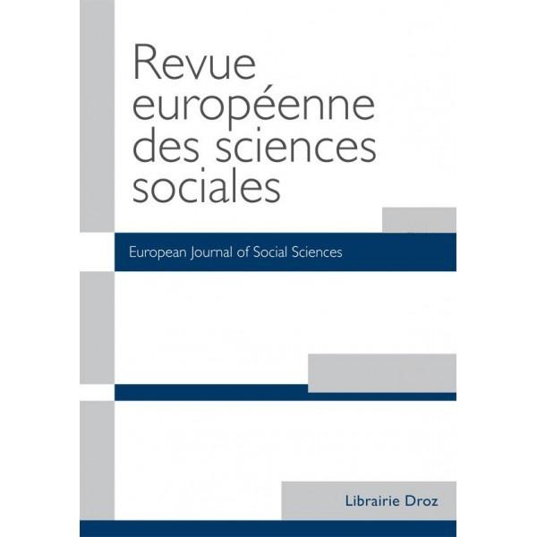 """""""La circulation transatlantique d'un ethos scientifique pour la sociologie. La correspondance de Raymond Boudon"""""""