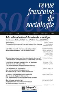 """«De la génétique à l'épigénétique : une révolution """"post-génomique"""" à l'usage des sociologues»"""