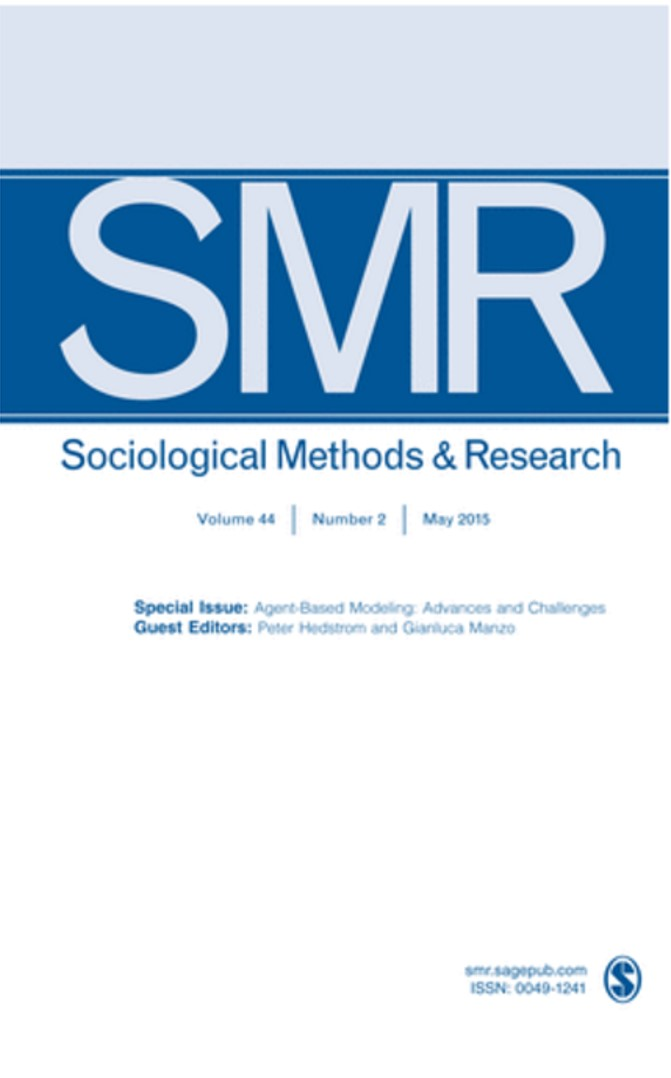 """Peter Hedström, Gianluca Manzo, """"Agent-based Modeling: Advances and Challenges"""", <i>Sociological Methods and Research</i>, 44, 2, 208 p. See Table of Contents"""