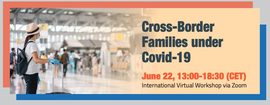 "22 juin 2021, Beate Collet intervient au colloque international ""Cross-border families under Covid-19"""